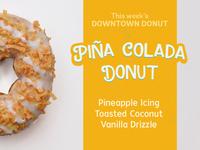 Piña Colada Donut