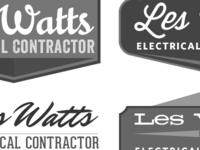 Les Watts logo ideas
