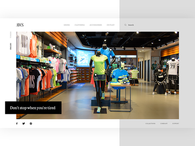 AWS Sport Store
