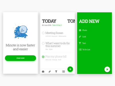 Minote android layout clean ios to do app to do list