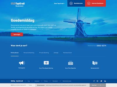 YapiKredi Nederland concept ux design ui  ux ui banking holland netherlands bank card nederland bank