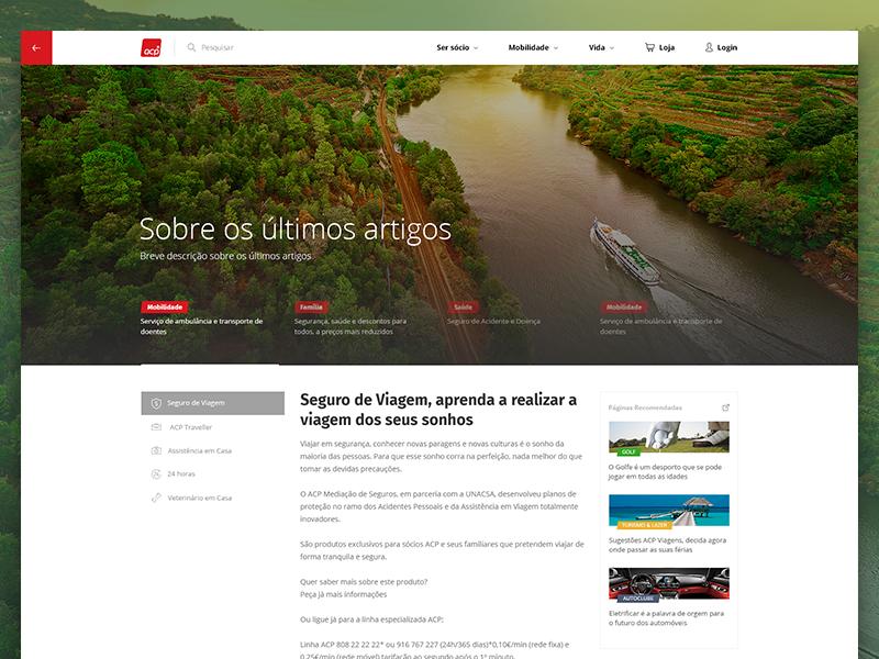 Article Page write article portal website web web design simple clean design interface ux ui