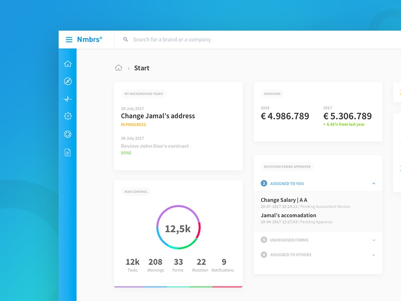 Dashboard interaction new product design web design web app redesign ux ui dashboard