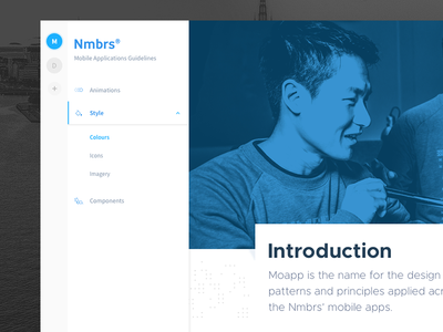 Moapp UI - Web App
