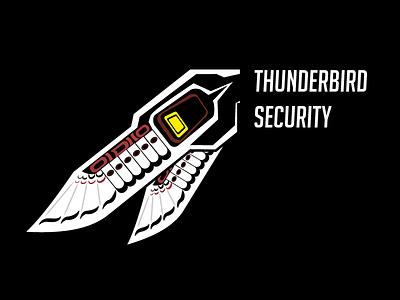 Thunderbird Security teeshirt thunderbird overwatch pharah