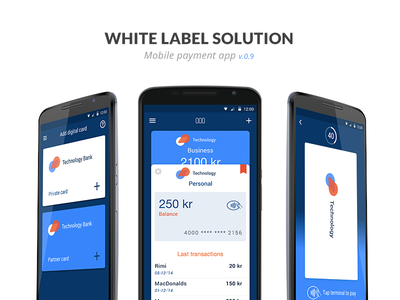 Mobile payment app material design mobile ui ux mobile payment mobile app