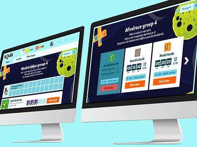 Squla Behance Project coming soon ux web ui platform design