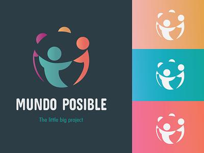 Mundo Posible branding vector logo logo design