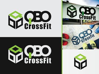 QBO CrossFit - Logo logo design branding logodesign logo design crossfit branding logo design