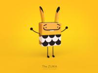 Zuika - CGI character concept
