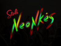 Neonkės party - poster
