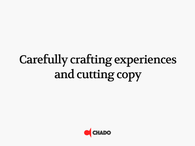 Chado Design
