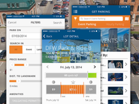 Preview: iOS Parking App