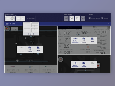 Airport Systems Dashboard Configuration