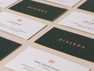 Dialexa Business Cards