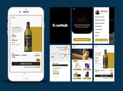 Day 16 of 30 [A Liquor store app].