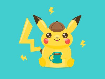 Detective Pikachu's Coffee Break