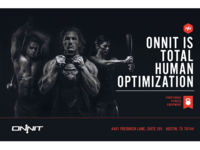 Onnit Fitness Flyer