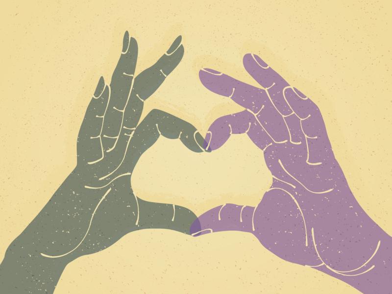 Demisexuality editorial illustration illustrator editorial illustration