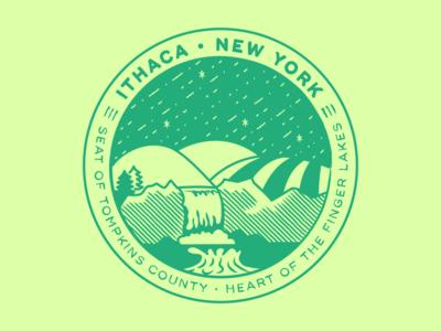 ♥ Ithaca, NY sticker ♥