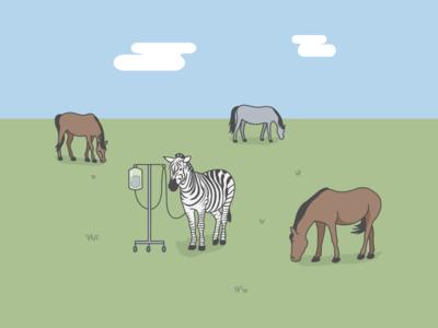 """If you hear hoof beats, think horses, not zebras."""