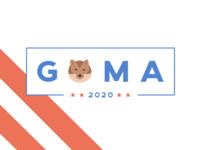 ★★ GOMA 2020 ★★ campaign logo