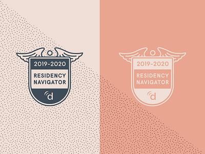 Badge for affiliate websites design medical branding vector adobe illustrator cc illustrator emblem badge design badge