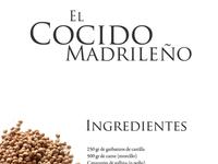 El cocido madrileño cocido layout webdesign white