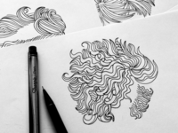 Hair Illustrations