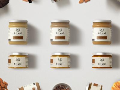 Eat's Natural Glass Jar