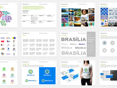 Boards Brand of Brasília branding proposal boards research