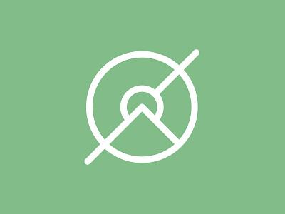 Focal Point Icon Design graphic design vector illustration icon branding clean brand minimal logo design