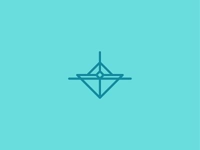 Float green illustration illustrator iconography vector minimal icon flat design clean branding brand logo sail boat sail ship boat logo boats boating boat