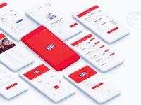 Red App- UI Design