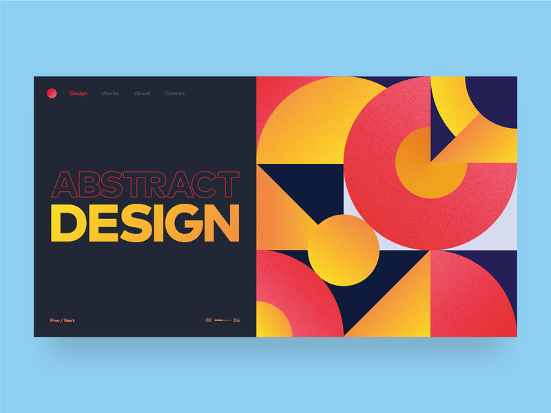 Abstarct abstract colors abstract art gradient ux ui web abstract grains dribbble design app vector illustration ui design