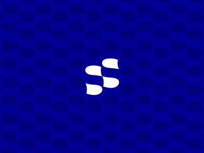 SmartShop logo & brand identity vector concept branding design blue brand logo slogo technology tech