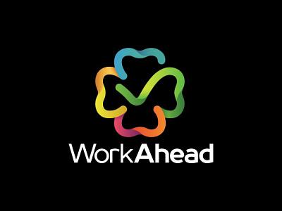 Shamrock Logo social entrepreneurship check mark colors four leaf clover shamrock