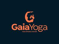 Yoga apparel logo
