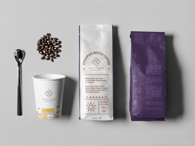 Coffee roastery branding & packaging