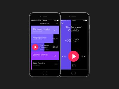 Rightspeed Podcast App