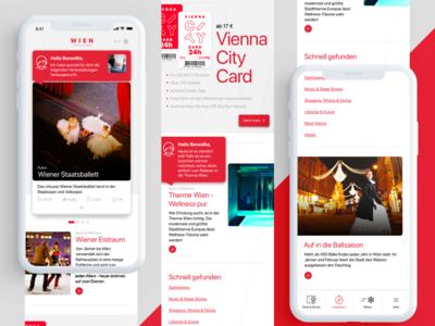 Tourismus App Concept