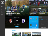 New website for our football club