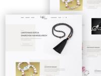 Li&Li Fashion Jewelry web design