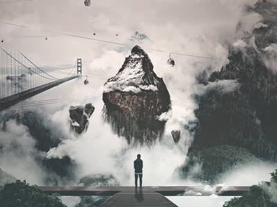 Tomorrow's Finest composition retouch manipulation band proportions photoshop photo manipulation surreal packaging cover artwork album artwork