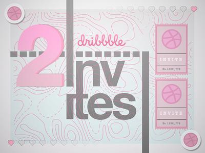 Dribbble Invites! rsvp promo card invitation player 2 invites invite prospect dribbble