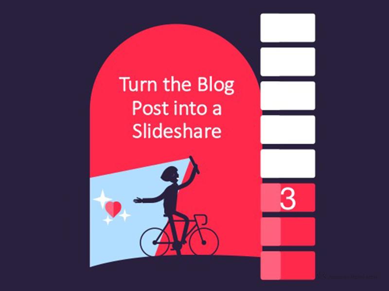 Presentation slides slide presentation illustration flat selfie bicycle