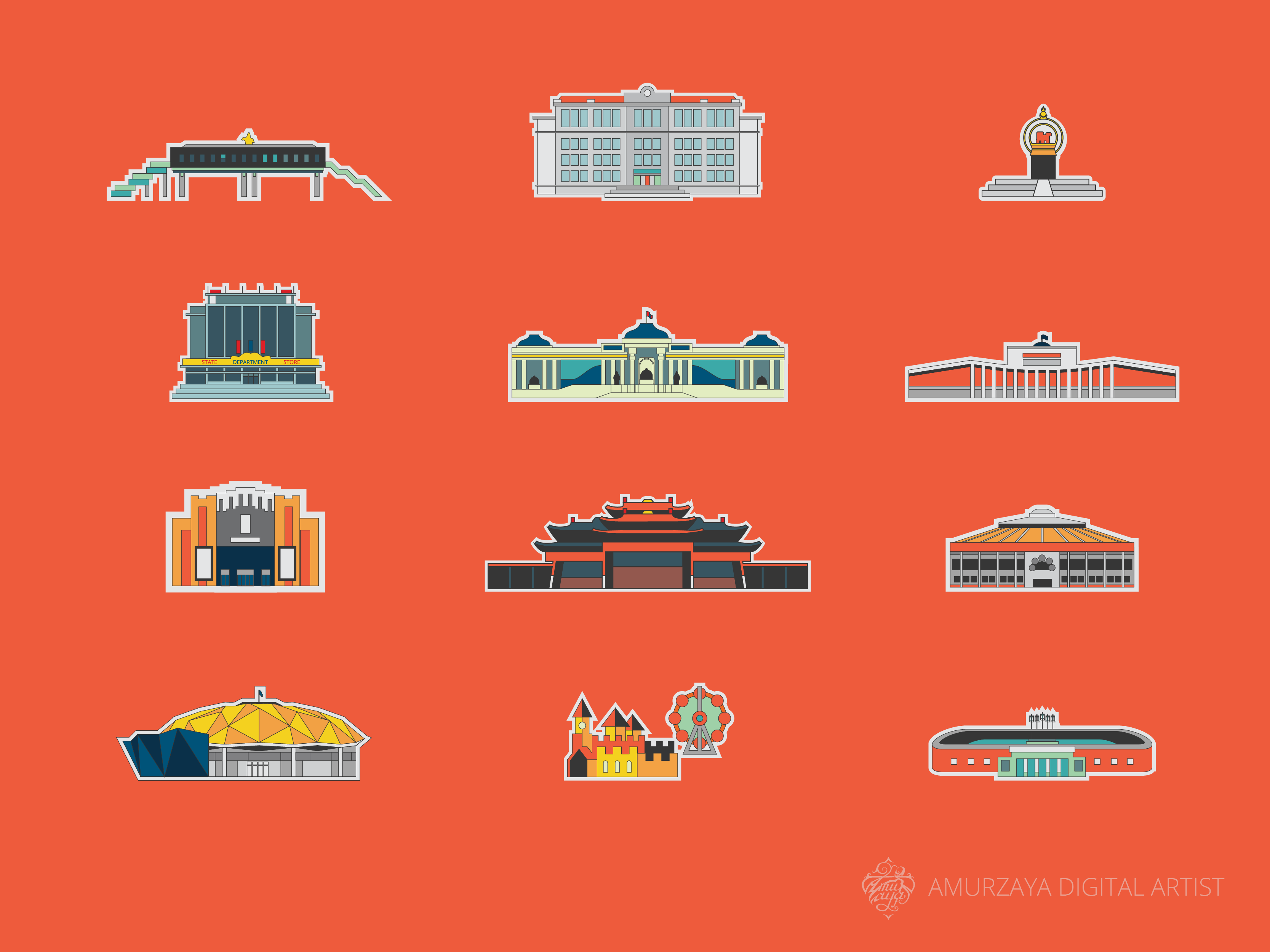 Icons for maps w3w 01