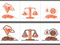 Sixt rental car icons scr shot