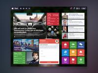 Redesign of Windows 8 UI