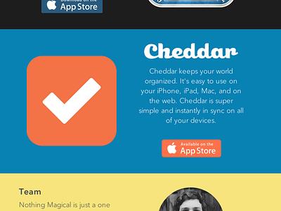 Nothing Magical ios iphone ipad mac marketing flat svg